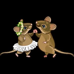 Mäuse tanzen