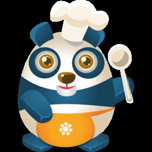 Panda kochen