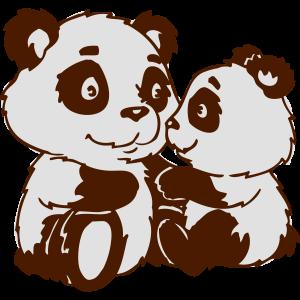 Pandafamilie