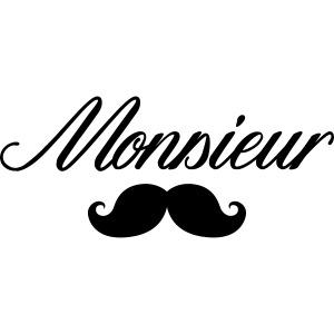 monsieur moustache logo