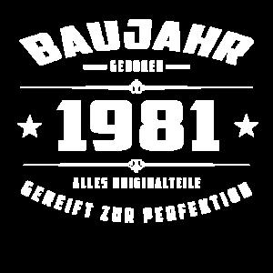 Baujahr - 1981