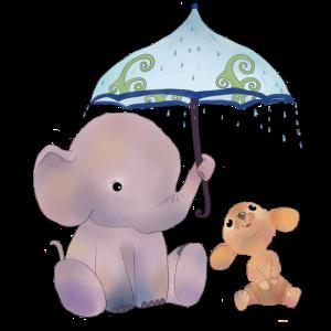 Maus und Elefant