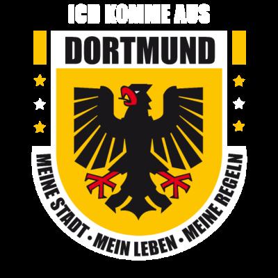 Dortmund  - Exklusives Dortmund Design. Das perfekte T-Shirt für alle Dortmund-Fans!  - dortmundwappen,dortmundshirt,dortmund-t-shirt,borussia,Wappen,Dortmunder,Dortmund