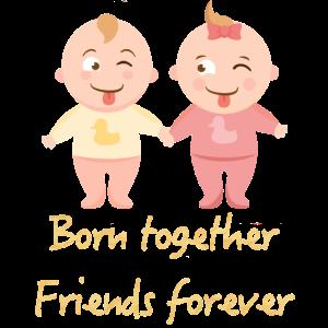 Zwillinge Junge und Mädchen, Zwillingsgeschenk