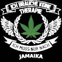 Jamaika Hanfblatt T-Shirt Urlaub