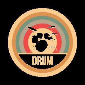 Drums Retro
