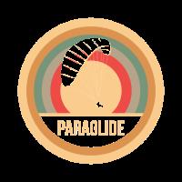 Paragliding Retro