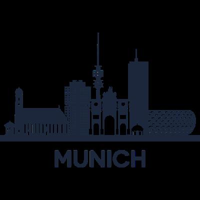 München, Deutschland -  - freedesigns17,Wolkenkratzer,Urban,Tower,Stadtbild,Stadt,Silhouette,Reise,Panorama,Nation,München,Metropole,Länder,Horizont,Hochhaus,Europa,Deutschland,Blick,Architektur
