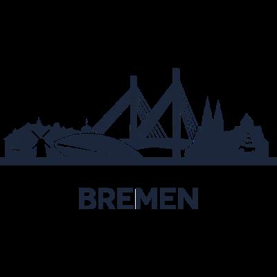 Bremen, Deutschland -  - freedesigns17,Urban,Tower,Stadtbild,Stadt,Silhouette,Reise,Panorama,Nation,Metropole,Länder,Horizont,Hochhaus,Europa,Deutschland,Bremen,Blick,Architektur