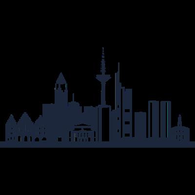 Frankfurt am Main, Deutschland -  - freedesigns17,Wolkenkratzer,Urban,Tower,Stadtbild,Stadt,Silhouette,Reise,Panorama,Nation,Metropole,Länder,Horizont,Hochhaus,Frankfurt am Main,Frankfurt,Europa,Deutschland,Blick,Architektur