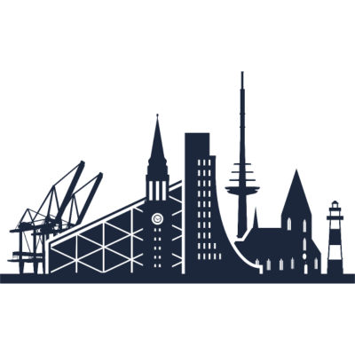 Kiel, Deutschland -  - freedesigns17,Urban,Tower,Stadtbild,Stadt,Silhouette,Reise,Panorama,Nation,Metropole,Länder,Kiel,Horizont,Hochhaus,Europa,Deutschland,Blick,Architektur