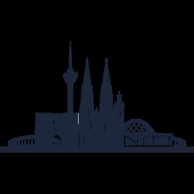 Köln, Deutschland -  - freedesigns17,Urban,Tower,Stadtbild,Stadt,Silhouette,Reise,Panorama,Nation,Metropole,Länder,Köln,Horizont,Hochhaus,Europa,Dom,Deutschland,Blick,Architektur