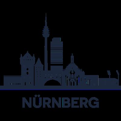 Nürnberg, Deutschland -  - freedesigns17,Urban,Tower,Stadtbild,Stadt,Silhouette,Reise,Panorama,Nürnberg,Nation,Metropole,Länder,Horizont,Hochhaus,Europa,Deutschland,Blick,Architektur