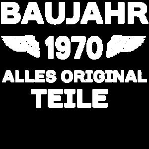 Baujahr 1970 - Alle Originalteile