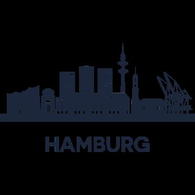 Hamburg, Deutschland -  - freedesigns17,Urban,Tower,Stadtbild,Silhouette,Reise,Panorama,Nation,Metropole,Länder,Horizont,Hamburg,Europa,Deutschland,Blick,Architektur