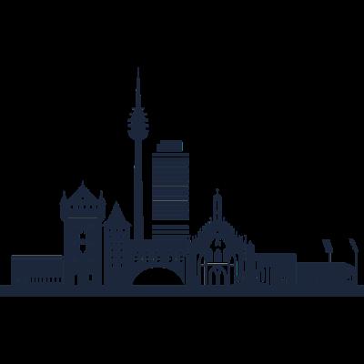 Nürnberg, Deutschland -  - freedesigns17,Urban,Tower,Stadtbild,Silhouette,Reise,Panorama,Nürnberg,Nation,Metropole,Länder,Horizont,Europa,Deutschland,Blick,Architektur