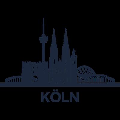 Köln, Deutschland -  - freedesigns17,Wappen,Urban,Tower,Stadtbild,Silhouette,Reise,Panorama,Nation,Metropole,Länder,Köln,Horizont,Hochhaus,Europa,Dom,Deutschland,Blick,Architektur