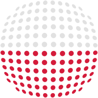 Poland flag (Dotted)