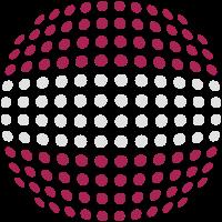 Latvia flag (Dotted)