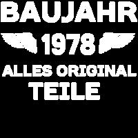 Baujahr 1978 - Alle Originalteile
