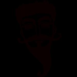 Bärtiger Mann