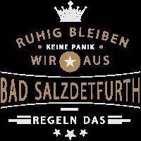 Bad Salzdetfurth cooles Souvenir und witziges Andenken Shirt