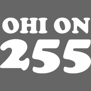#255000 Ohi on 255 valkoisella tekstillä