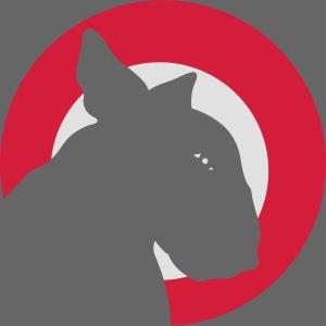 Bull Terrier Target Red