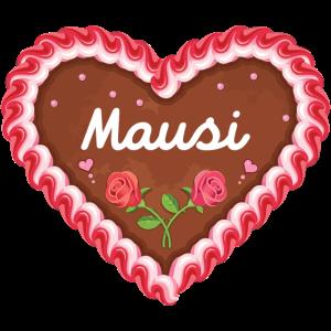Oktoberfest Herz Mausi - Geschenkidee