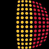 Belgium flag (Dotted)
