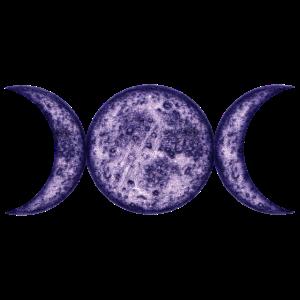 Mondphasen-purple-wicca