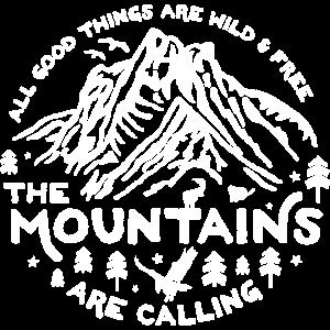 Mountains Calling white