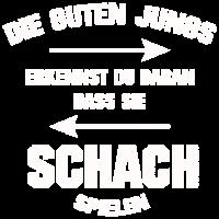 SCHACH DIE GUTEN JUNGS GRUNGE STYLE SHIRT