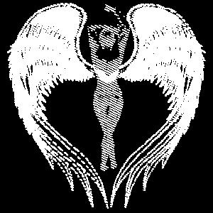 Engel schwarz