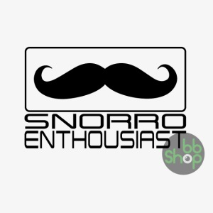 Snorro enthusiastic (black)