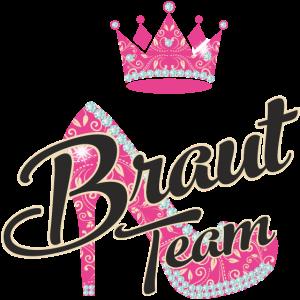 JGA - Braut Team Schuh - RAHMENLOS Junggesellinnenabschied