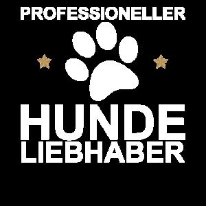 Professioneller Hundeliebhaber