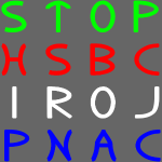 STOP HSBC IROJ PNAC