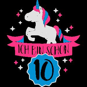 Ich bin schon 10