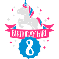 Birthday Girl - eight Years old