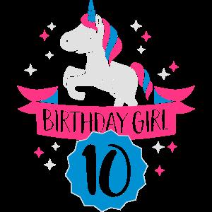 Birthday Girl - ten Years old