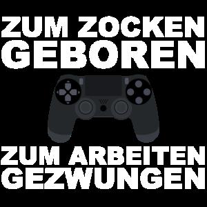 Gamer Game Gamerin Zocker Zocken Gamen Arbeit