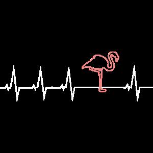 Rosa Flamingo - Herzschlag