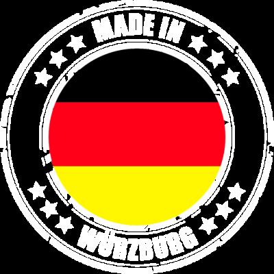 WÜRZBURG - Du kommst aus WÜRZBURG? Dann ist dieses Design für dich! - WÜRZBURG,MADE,IN