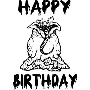 Happy Birthday - Geburtstag