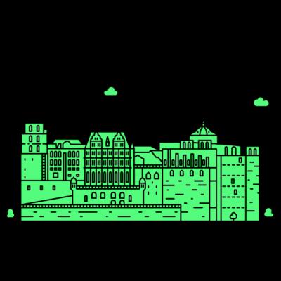 Heidelberg, Deutschland -  - freedesigns17,Wolkenkratzer,Urban,Tower,Stadtbild,Silhouette,Reise,Panorama,Nation,Metropole,Länder,Horizont,Hochhaus,Heidelberg,Europa,Deutschland,Blick,Architektur
