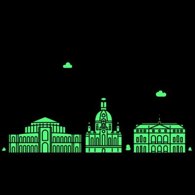 Dresden, Deutschland -  - freedesigns17,Wolkenkratzer,Urban,Tower,Stadtbild,Silhouette,Reise,Panorama,Nation,Metropole,Länder,Horizont,Hochhaus,Europa,Dresden,Deutschland,Blick,Architektur