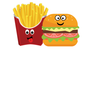 Pommes und Burger Best friends forever