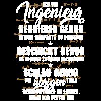 Nerdiges, lustiges Ingenieur - T-Shirt mit Formeln