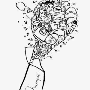 shampoo doodles